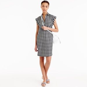 J. Crew Classic Shirtdress in Gingham